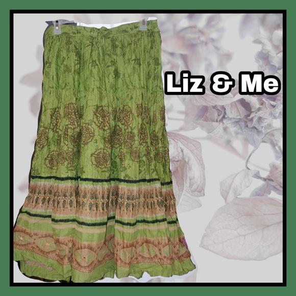 Liz & Me Dresses & Skirts - Liz & Me Maxi BOHO Skirt .. Plus Sz 2X (22/24X)